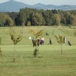 Oblíbený golfový areál v Janově u Hřenska