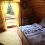 Chata Tolštejn - manželská postel